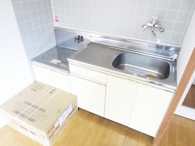 綺麗なキッチンには新品のコンロが入ります!