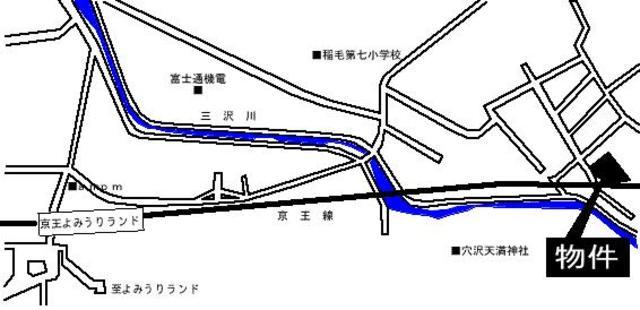 スカイコートよみうりランド案内図