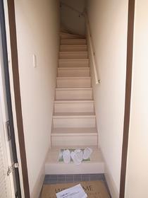 扉を開ければ階段です☆