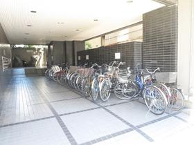 自転車置場もあり!