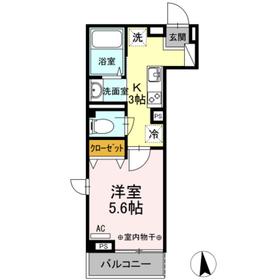 メゾン ド パーシモン 203号室