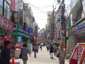 成増駅南口商店街