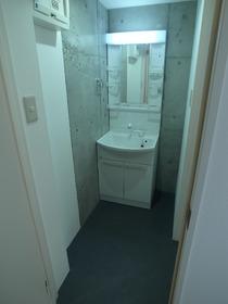 洗面スペースは独立してます!
