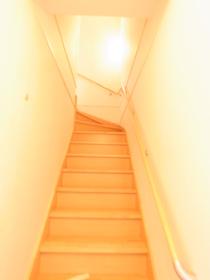 階段が室内に!