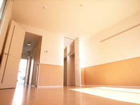 収納が大きいと居室は広々使って頂けますね!