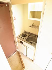 一人暮らしなら十分なキッチンです!