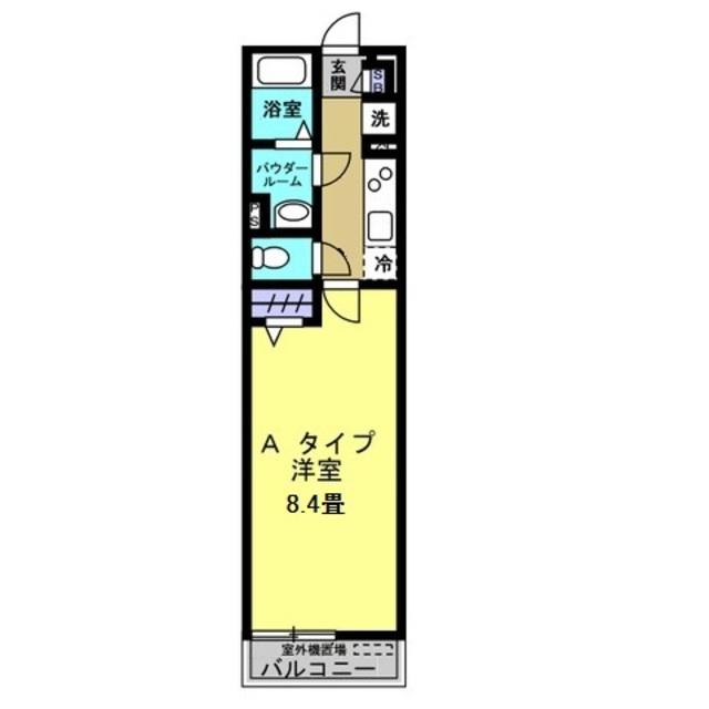 K2帖・洋室8.4帖
