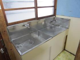 2口コンロ設置可のキッチンんです。