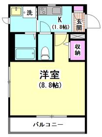 メゾン アカシア 304号室