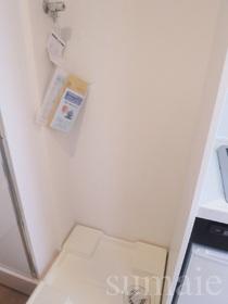 キッチン横に洗濯機置場あります☆