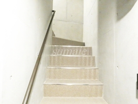 こちらが階段です☆