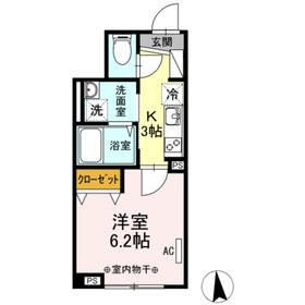 メゾン ド パーシモン 102号室