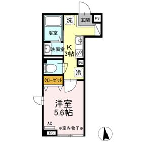 メゾン ド パーシモン 103号室