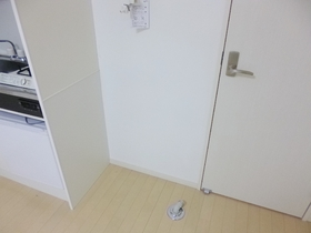室内に洗濯機置けます☆