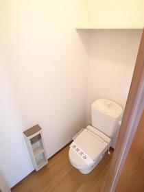 収納棚付きトイレ~