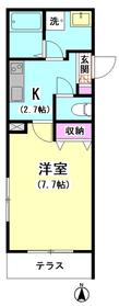 メゾンクレール�U 102号室