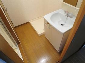 ゆったり洗面スペースです♪