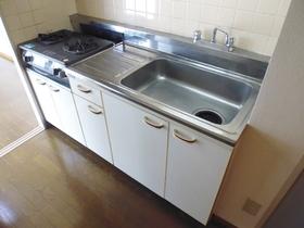 ガスコンロ設置可能なキッチン!