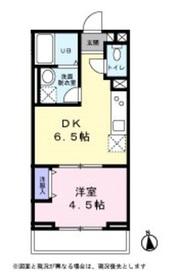 メゾン・ド・コフレ自由が丘Ⅰ3階Fの間取り画像