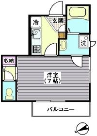 ブランシール武蔵小山 201号室