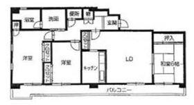 3LDK 89.73平米 8.0万円 香川県高松市多賀町2丁目