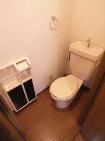トイレもキレイに清掃済みです!
