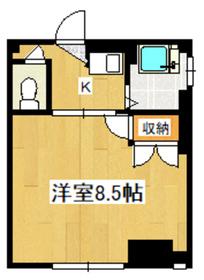 広めの居室がGOOD!!