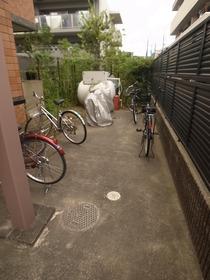 自転車はここ☆