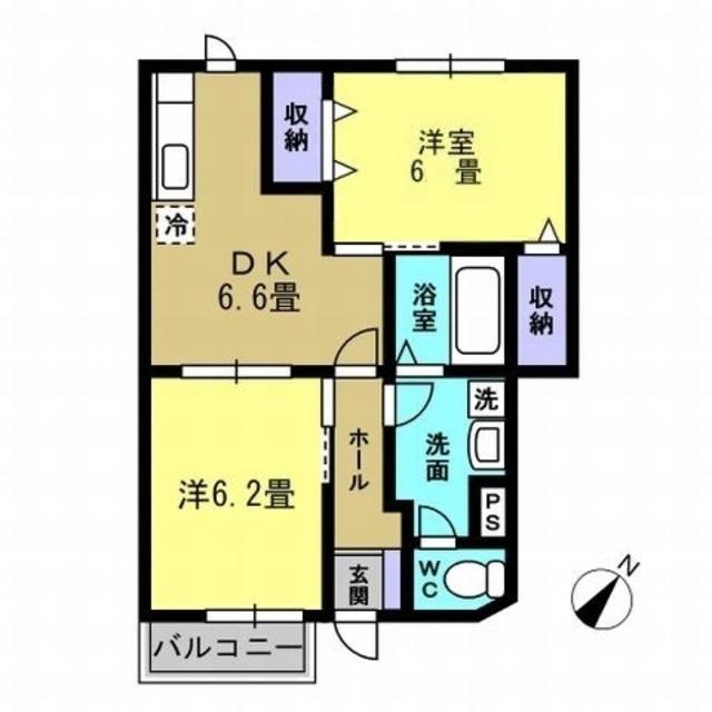 DK6.6帖・洋6帖・洋6.2帖
