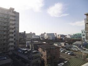 5階からの眺めです