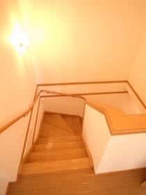 階段も広々☆