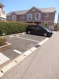 駐車場もあります☆