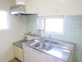 キッチンは新品で窓付きのガスコンロ2口設置可です☆