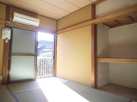 エアコン付きの和室6帖