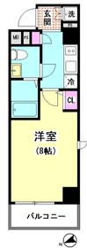 レジデンスイースト大森 801号室