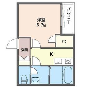 大井6丁目シャーメゾン 201号室