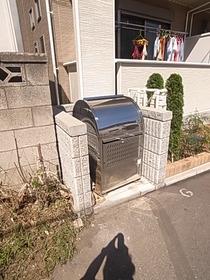 敷地内にゴミ捨て場あります☆