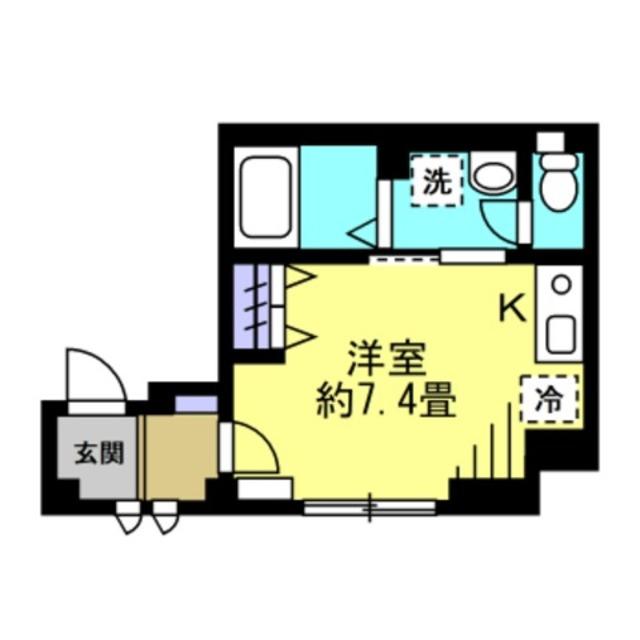 ★洋室7.4帖★