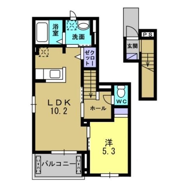 LDK10.2帖・洋室5.3帖