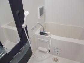 浴室は高級感溢れる内装です
