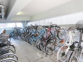 駐輪場も広いです♪