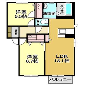アパート/高知県南国市緑ケ丘2丁目 Image