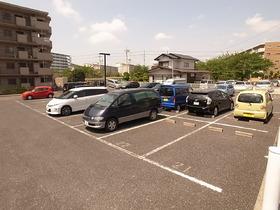 敷地内の駐車場はラクですね