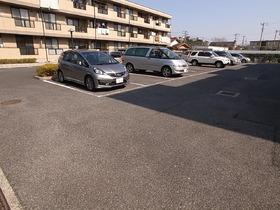 駐車場は平置きだからワゴンタイプも問題なし!