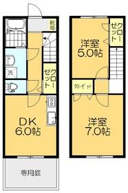 2DK 52.17平米 4.8万円 香川県綾歌郡 宇多津町平山