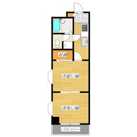 南西角部屋で室内明るいお部屋ですよ♪なんといってもお家賃が魅力♪