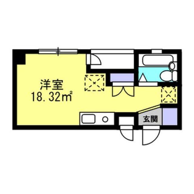 1ルームのお部屋