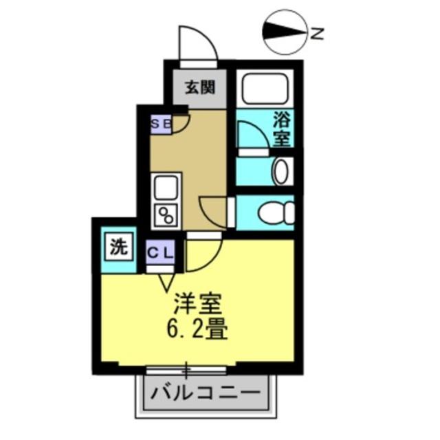 K3帖、洋室6.1帖