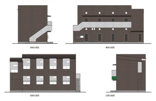 神戸市須磨区東町2丁目の賃貸アパート