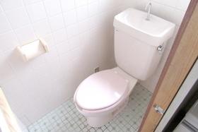 清潔感のあるトイレで快適です♪